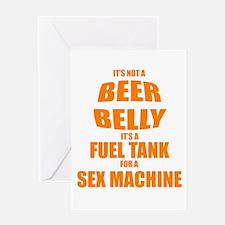 Beer Belly Greeting Card