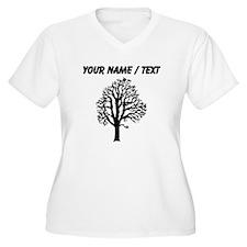 Custom Chestnut Tree Plus Size T-Shirt
