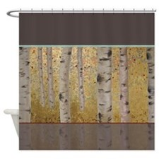 Ghosts Of Autumn Shower Curtain