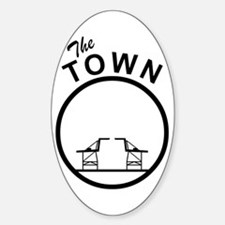 The Town Oval Decal