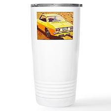 Yellow Corvair Watercol Travel Mug