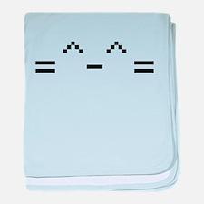 Happy Cat baby blanket