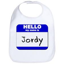 hello my name is jordy  Bib