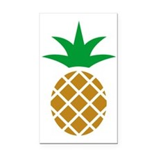 Pineapple Rectangle Car Magnet