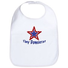 Tiny Democrat STAR Bib
