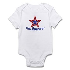 Tiny Democrat STAR Infant Bodysuit