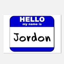 hello my name is jordon  Postcards (Package of 8)