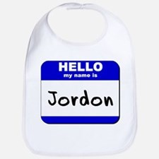 hello my name is jordon  Bib