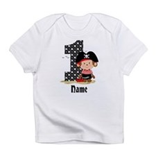 Personalized Monkey Pirate 1st Birthday Infant T-S