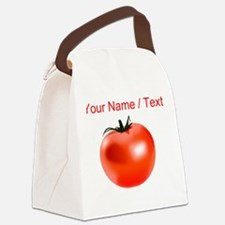 Custom Tomato Canvas Lunch Bag