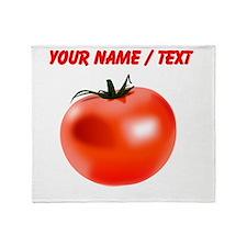 Custom Tomato Throw Blanket