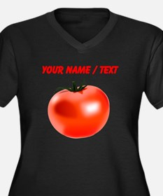 Custom Tomato Plus Size T-Shirt