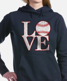 Love Baseball Classic Hooded Sweatshirt