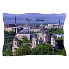 Riga, Latvia Pillow Case