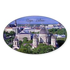 Riga, Latvia Decal