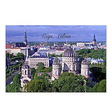 Riga, Latvia Postcards (Package of 8)