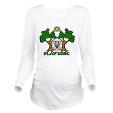 Play Disc Original ... Long Sleeve Maternity T-Shi