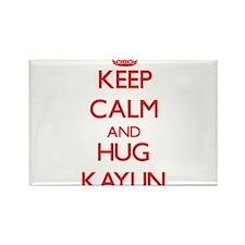 Keep Calm and Hug Kaylin Magnets