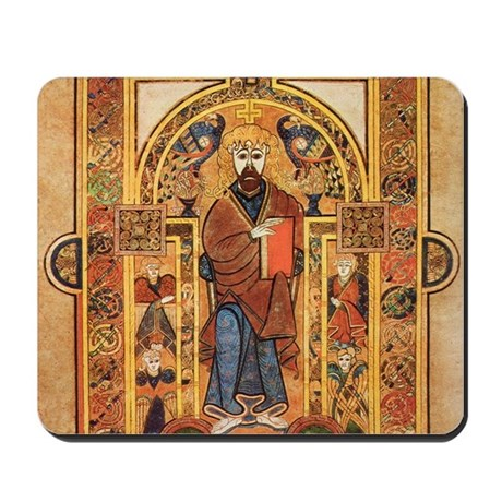 Book of Kells Mousepad