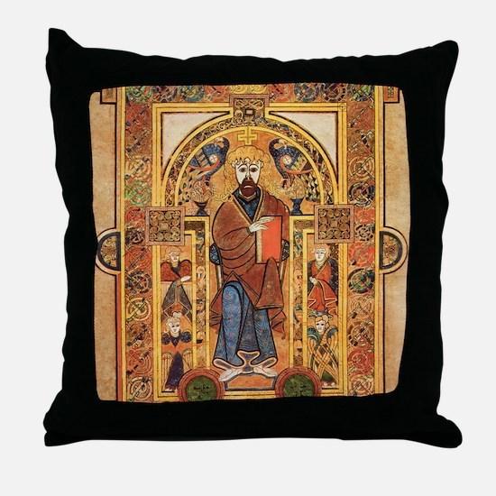 Book of Kells Throw Pillow