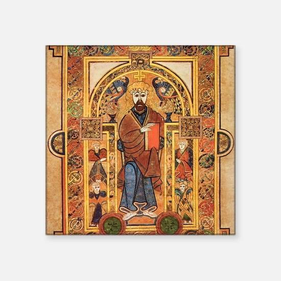 """Book of Kells Square Sticker 3"""" x 3"""""""