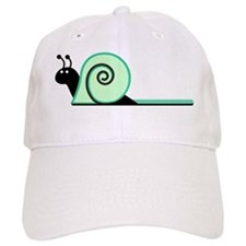 Cute Green Snail Baseball Cap