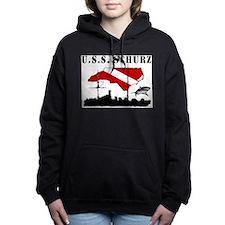 USS Schurz NC Dive.png Hooded Sweatshirt