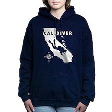 CALIDIVER.png Hooded Sweatshirt