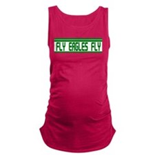 Fly Eagles Fly Grn Bumper.png Maternity Tank Top