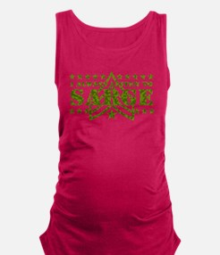 Listen to Sarge WHT.png Maternity Tank Top