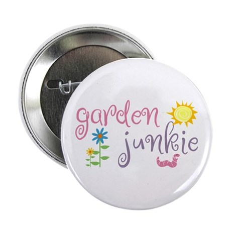Garden Junkie Button