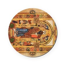 Book of Kells Cork Coaster