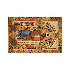 Book of Kells Rectangle Magnet