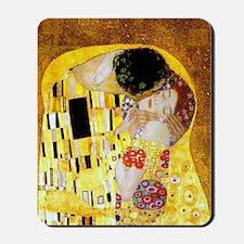 The Kiss by Klimt Mousepad