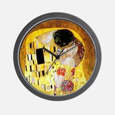 The Kiss by Klimt Wall Clock