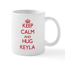 Keep Calm and Hug Keyla Mugs