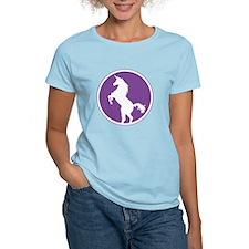 Unicorn Silhouette Purple T-Shirt