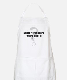 Select * from users -  BBQ Apron