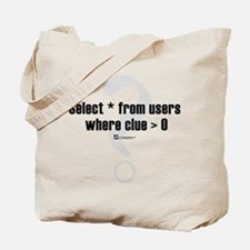 Select * from users -  Tote Bag
