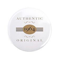 "1964 Authentic Original 3.5"" Button"