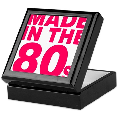 Made In The 80s Keepsake Box