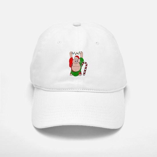 Christmas Buddha Baseball Baseball Cap