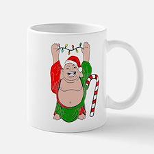 Christmas Buddha Mug