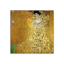 "Adele by Klimt Square Sticker 3"" x 3"""