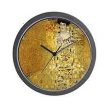Adele by Klimt Wall Clock