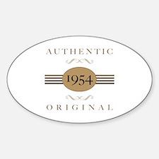 1954 Authentic Original Decal