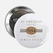 "1954 Authentic Original 2.25"" Button"