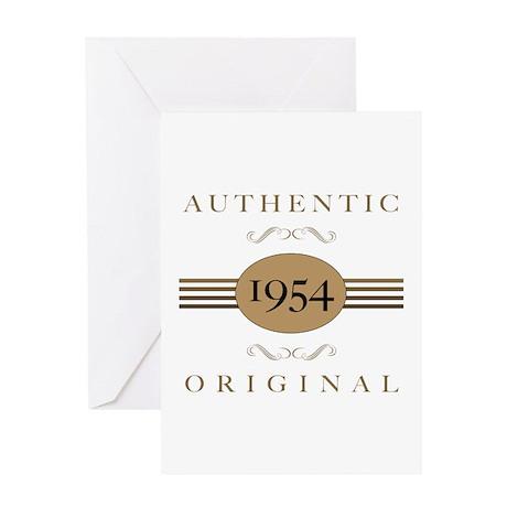 1954 Authentic Original Greeting Card