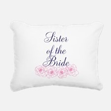Sister of the Bride Rectangular Canvas Pillow