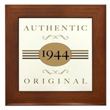 1944 Authentic Original Framed Tile
